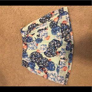 J•Crew Floral Skirt